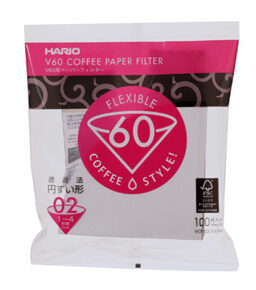 Hario v60 Pour Over Paper Filters 02