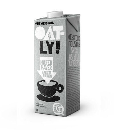 Oatly Barista Edition Oat Milk 1 Liter